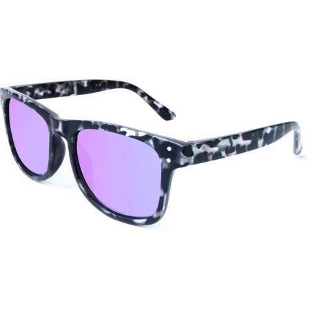 Zoo York Mens Black & White Tortoise Sunglasses