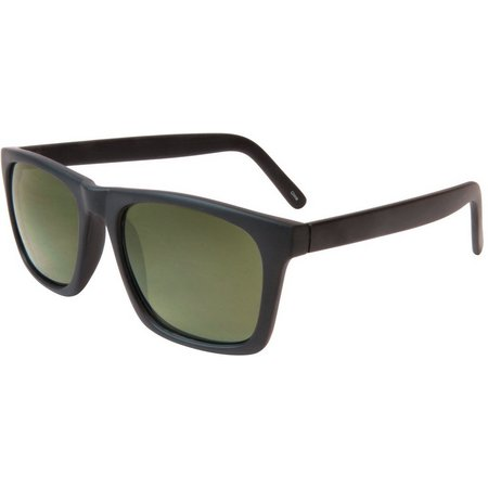 Geoffrey Beene Mens Plastic Retro Sunglasses