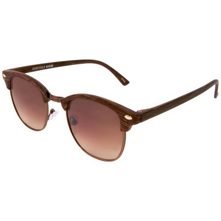 Geoffrey Beene Mens Top Brow Rectangle Sunglasses