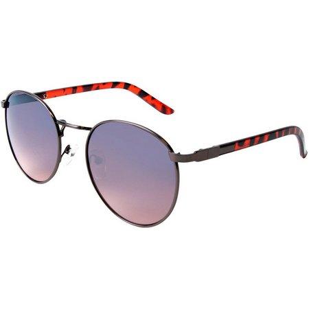 Geoffrey Beene Mens Metal Round Sunglasses