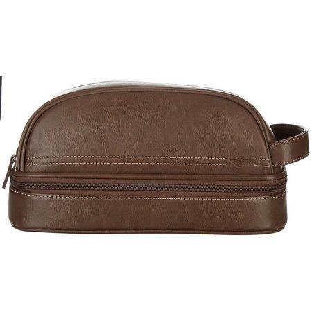 Dockers Top & Bottom Zip Travel Bag