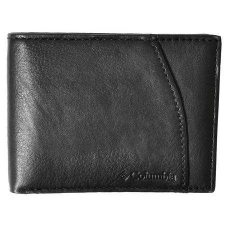 Columbia Mens Extra Capacity Slim Fold Wallet