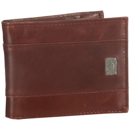 Dockers Leather Extra Capacity Traveler Wallet