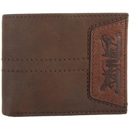 Levi's Mens Bifold Passcase Wallet