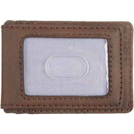 Levi's Mens Magnetic Slim Front Pocket Wallet