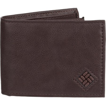 Columbia Mens Extra Capacity Slimfold Wallet