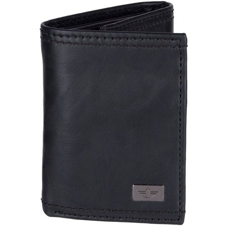 Dockers Mens RFID-Blocking Extra Capacity Tri-Fold Wallet