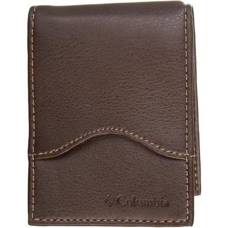 Columbia Mens Money Clip Security Wallet