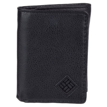 Columbia Mens RFID Shield Trifold Leather Wallet