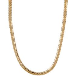Vince Camuto Goldtone Snake Chain Necklace