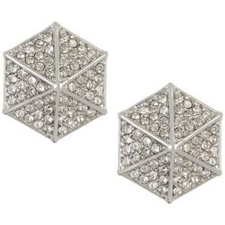 Vince Camuto Crystal Pave Stud Earrings