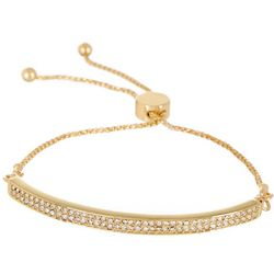 Vince Camuto Thin Crystal Bar Slider Bracelet