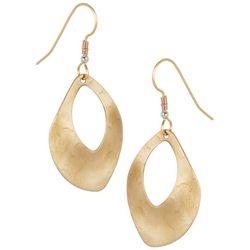 Silver Forest Open Teardrop Dangle Earrings