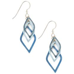 Blue Dangle Earrings