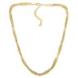 Bay Studio Silver Tone Multi Chain Necklace