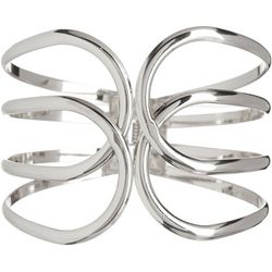 Bay Studio Open Loop Hinged Cuff Bracelet