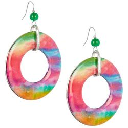 Bay Studio Rainbow Ring Drop Earrings