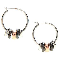 Nine West Shaky Hoop Earrings