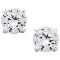 Chaps 6mm Cubic Zirconia Stud Earrings