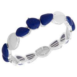 Chaps Sodalite Blue Stretch Bracelet