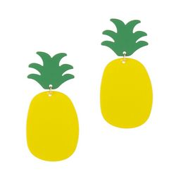 Bay Studio Pineapple Stud Dangle Earrings