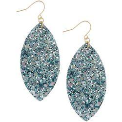 Bay Studio Marquis Glitter Drop Earrings