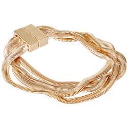 Rippled Magnetic Bracelet