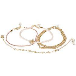 Bay Studio 5-Pc. Gold Tone Chain Bracelet Set