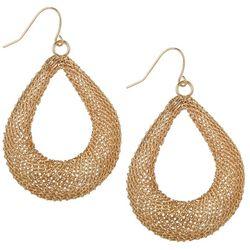 Bay Studio Woven Wire Tear Drop Earrings