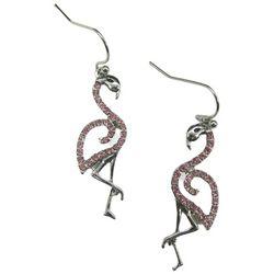 Bay Studio Flamingo Rhinestone Earrings