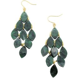 Bay Studio Green Resin Kite Drop Earrings