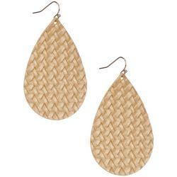 Bay Studio Woven Texture Teardrop Earrings