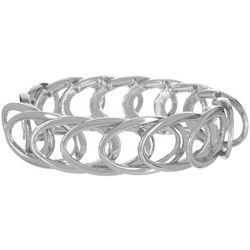 Bay Studio Open Oval Link Stretch Bracelets