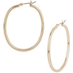 Bay Studio Oval Hoop Earrings