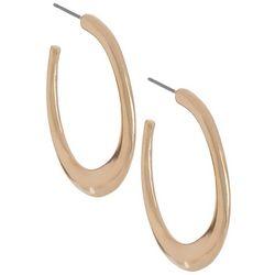 Bay Studio Oval C-Hoop Earrings