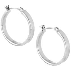 Bay Studio Wedding Band Hoop Earrings