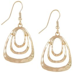 Bay Studio Triple Triangle Dangle Earrings