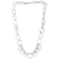 Multi Open Circle Necklace