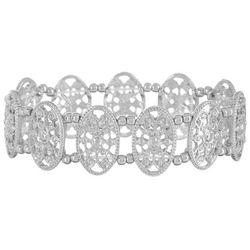 Bay Studio Silver Tone Filigree Bracelet