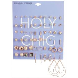 Ballet 30-pc DHoly Chic Earring Set