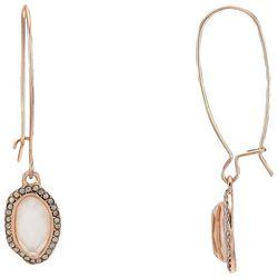 Bay Studio Shepherds Ear Wire Oval Drop Earrings