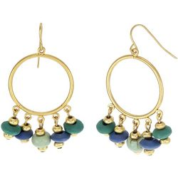 Bay Studio Shakey Beads Ring Drop Earrings