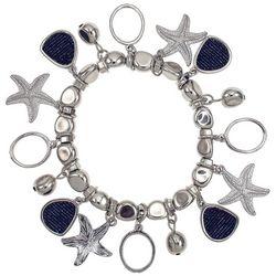 Bay Studio Coastal Starfish Charm Stretch Bracelet