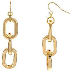 Bay Studio Chain Link Gold Tone Earrings