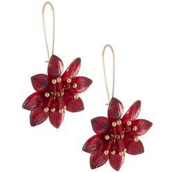 Bay Studio Beaded Floral Drop Earrings