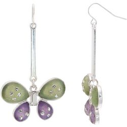 Bay Studio Butterfly Drop Earrings
