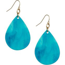 Bay Studio Acetate Swirl  Teardrop Earring