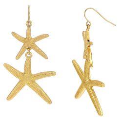 Bay Studio Duo Starfish Drop Earrings