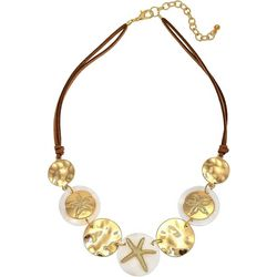 Bay Studio Coastal Shell & Sand Dollar Necklace
