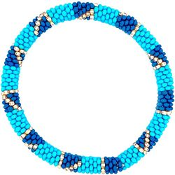 Bay Studio Blue Multi Seed Bead Bracelet